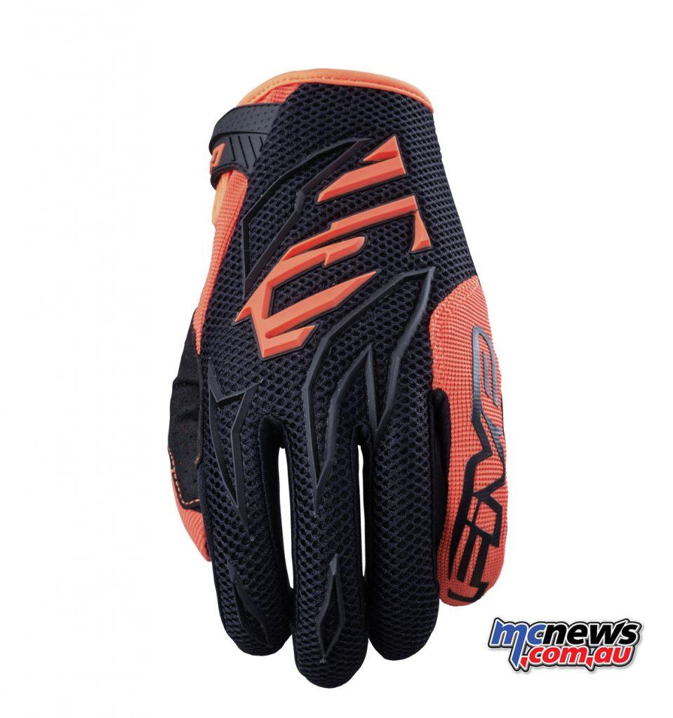Five MFX 3 - Black/Fluro Orange
