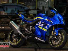 2017 Suzuki GSX-R1000R out and about in Melbourne