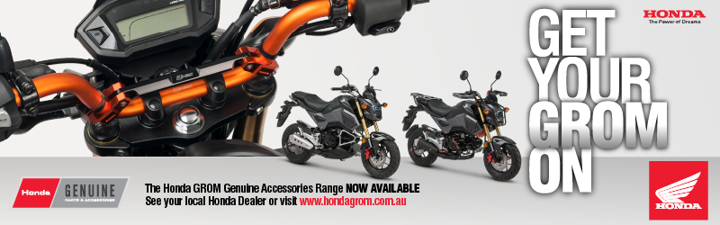MotoGP content brought to you by Honda Grom Genuine Accessories