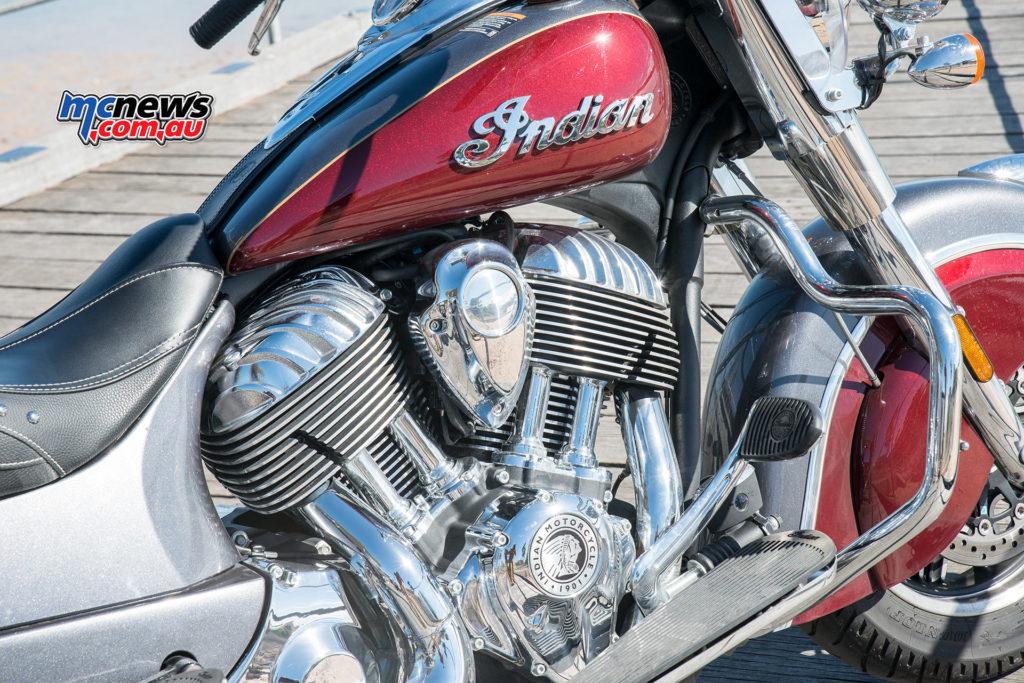 Indian Springfield Thunderstroke 111 engine