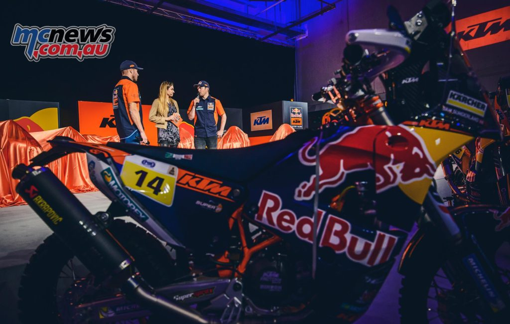 KTM is the dominant brand in offroad motorsport and in January won its 16th consecutive Dakar Rally with British rider Sam Sunderland on the KTM 450 RALLY a year after Australia's Toby Price took out Dakar in 2016