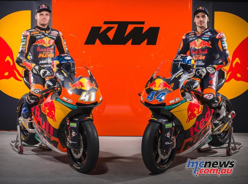 Moto2 2017 - KTM - Brad Binder and Miguel Oliveira