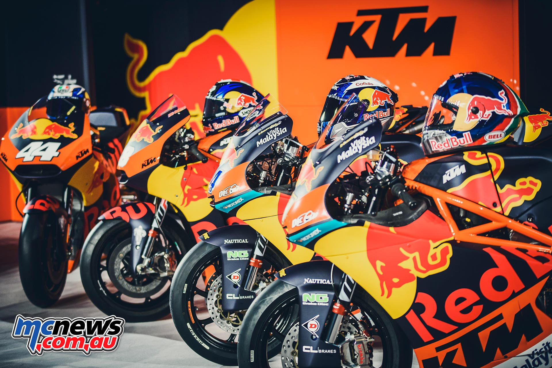 Red Bull KTM Factory Racing starts new era in MotoGP 2017