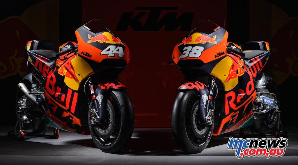 MotoGP 2017 - KTM RC16 - Pol Espargaro and Bradley Smith