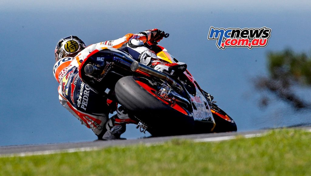 Marc Marquez displayed excellent pace over a long run