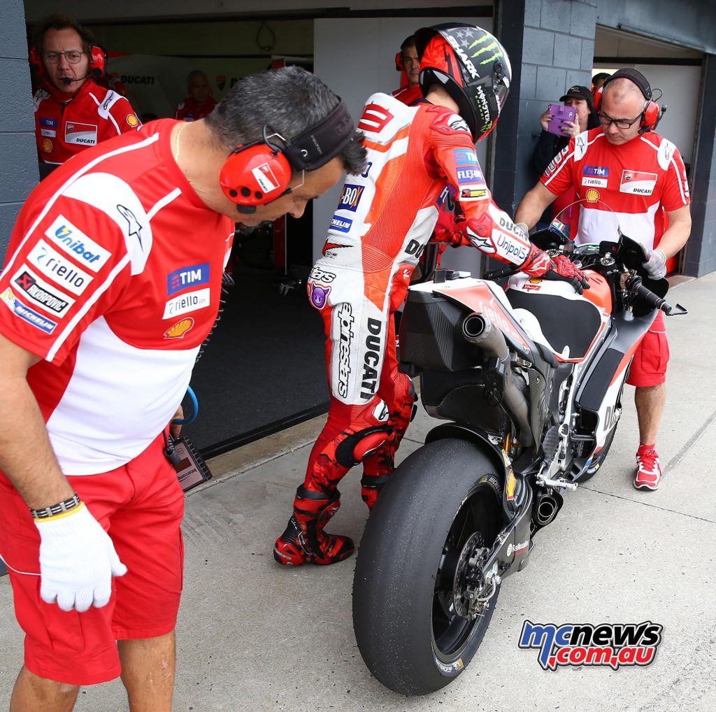 Jorge Lorenzo has so far struggled for pace on the Ducati - Image by Andrew Northcott