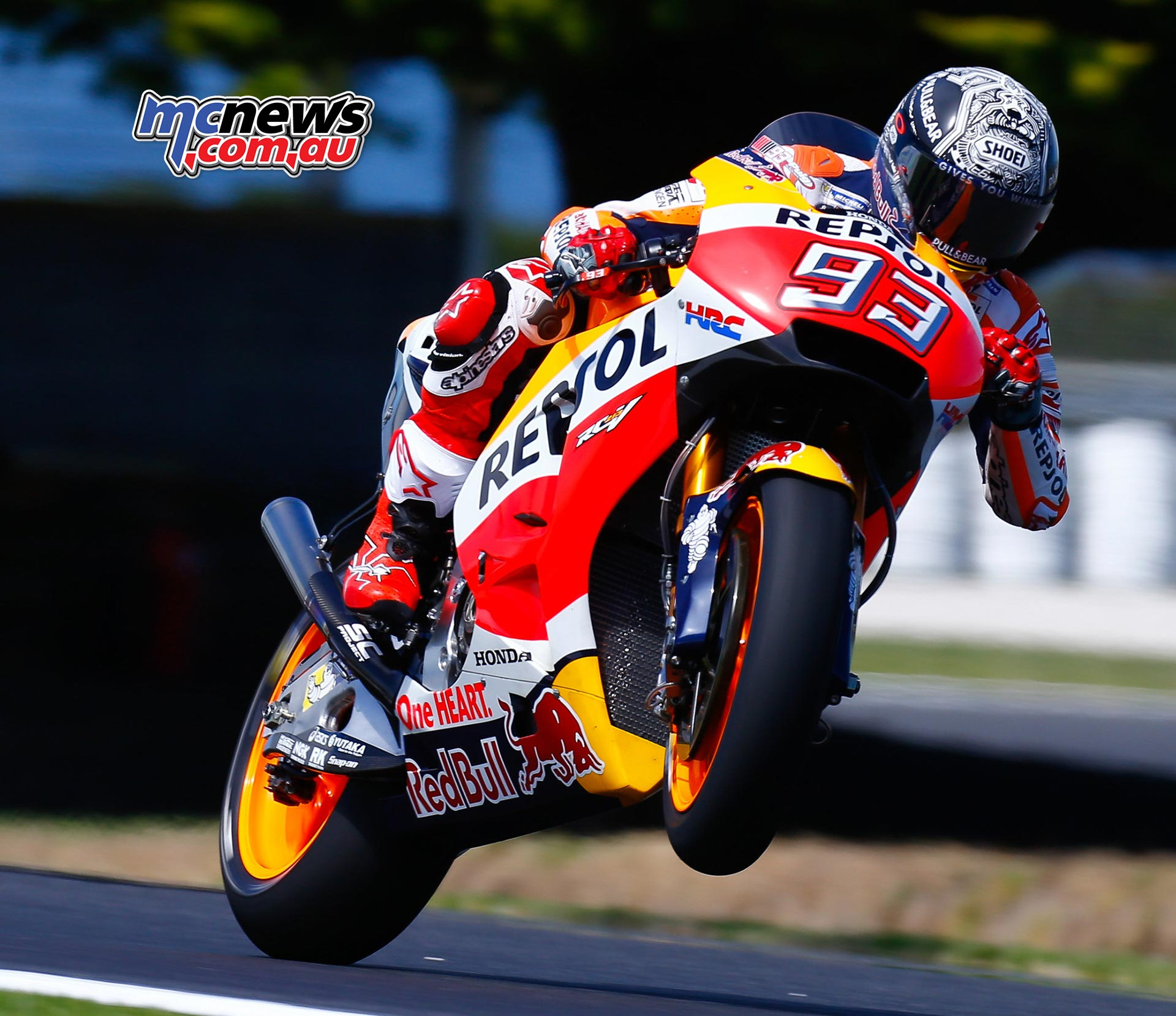 Marc Marquez tops day one at Phillip Island | MCNews.com.au
