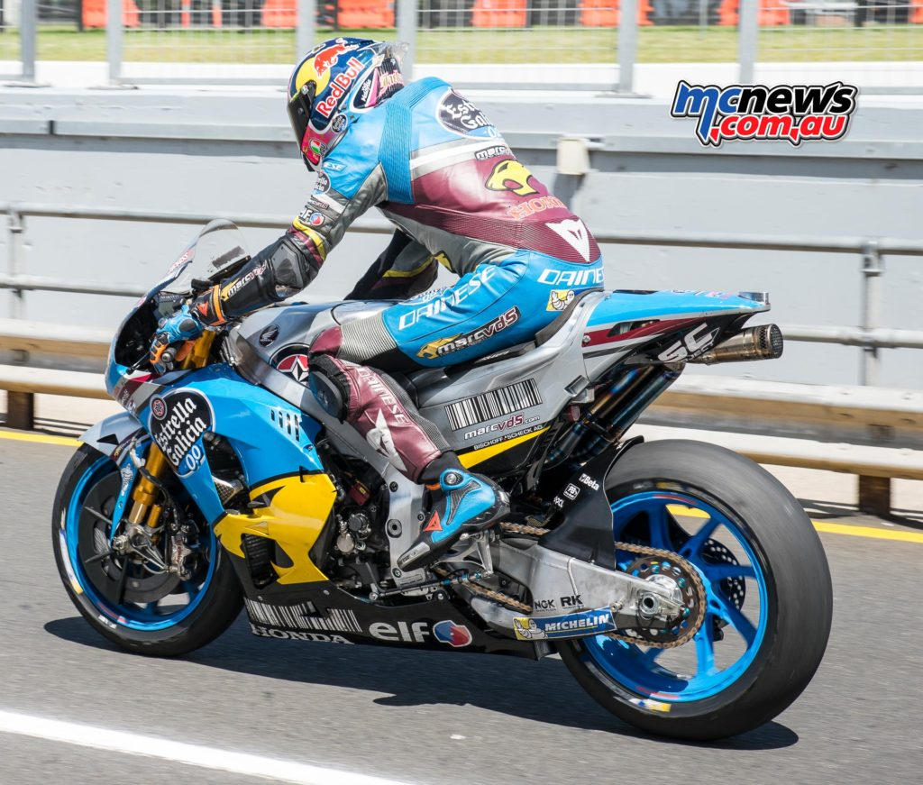Jack Miller finished the three-day Phillip Island MotoGP test ninth overall.