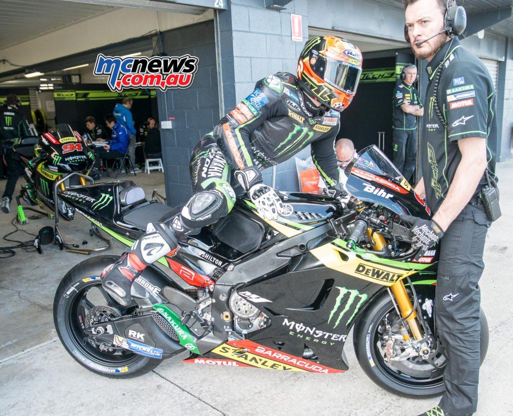 Jonas Folger showed great pace on the Tech3 Yamaha