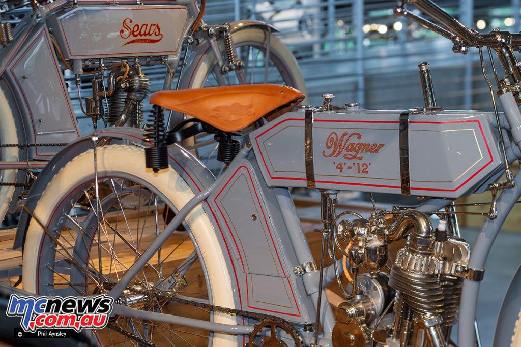 Barber Vintage Motorsport Museum - Early American motorcycles - Wagner and Sears - Image: Phil Aynsley