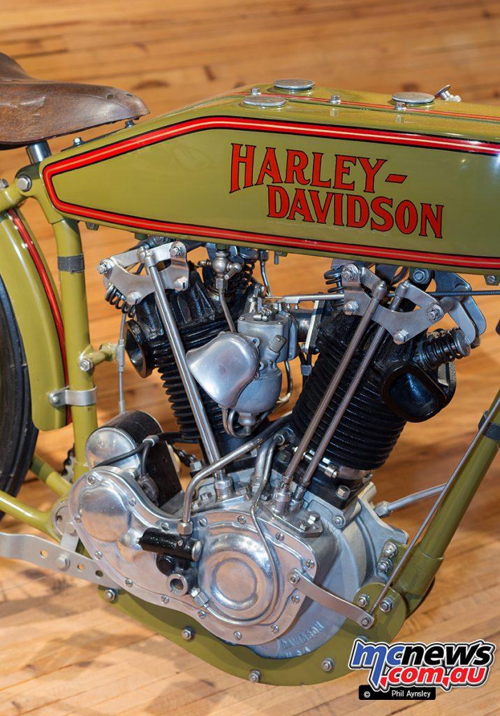 Barber Vintage Motorsport Museum - Early American motorcycles - Harley-Davidson - Image: Phil Aynsley
