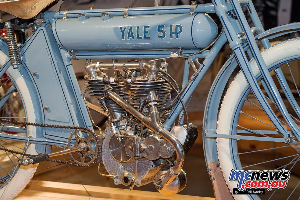 Barber Vintage Motorsport Museum - Early American motorcycles - Yale - Image: Phil Aynsley