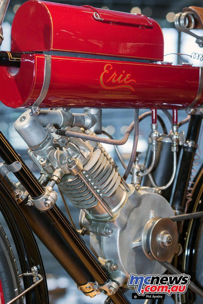 Barber Vintage Motorsport Museum - Early American motorcycles - Erie - Image: Phil Aynsley