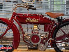 Barber Vintage Motorsport Museum - Early American motorcycles - Indian - Image: Phil Aynsley