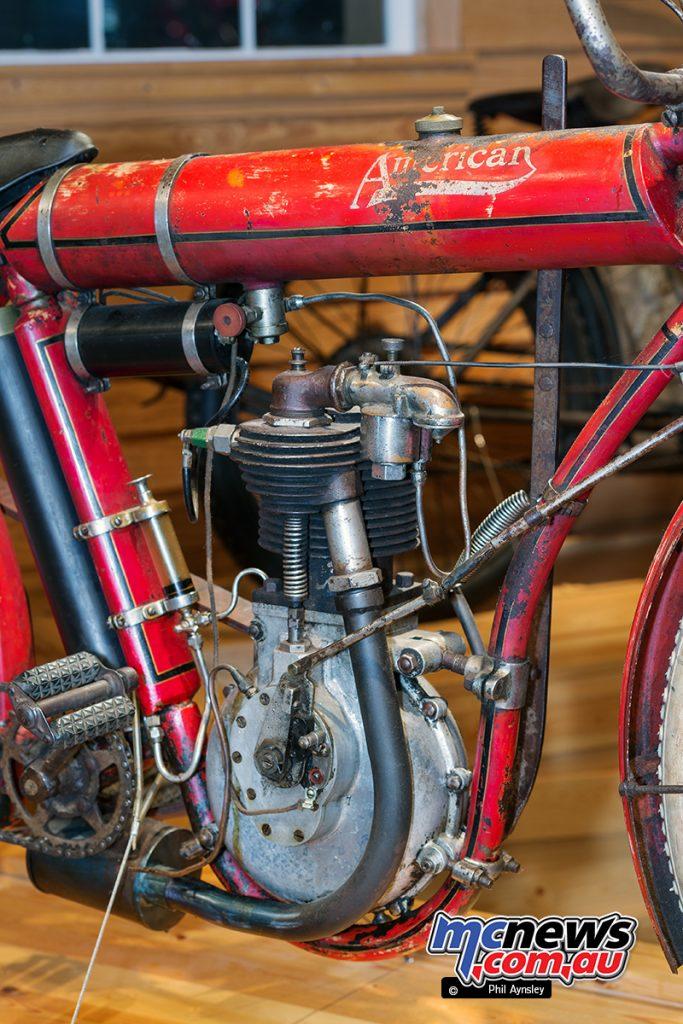 Barber Vintage Motorsport Museum - Early American motorcycles - American - Image: Phil Aynsley