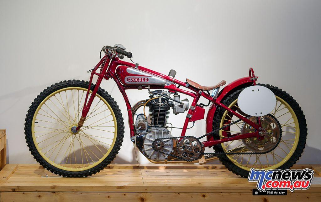 Barber Vintage Motorsport Museum - Early American motorcycles - Crocker - Image: Phil Aynsley