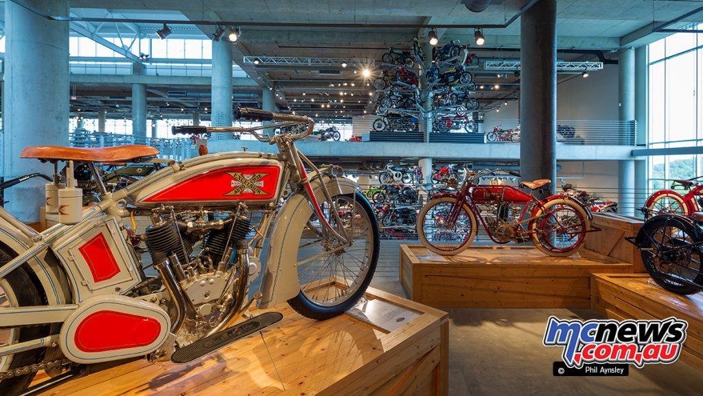 Barber Vintage Motorsport Museum - Early American motorcycles - Image: Phil Aynsley
