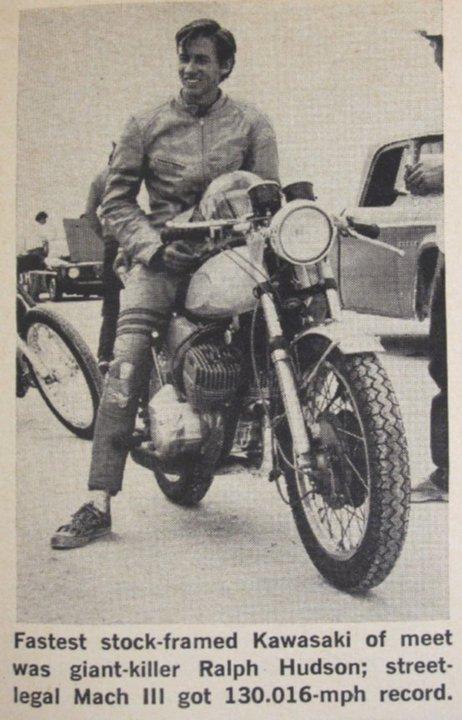 Ralph Hudson in 1971