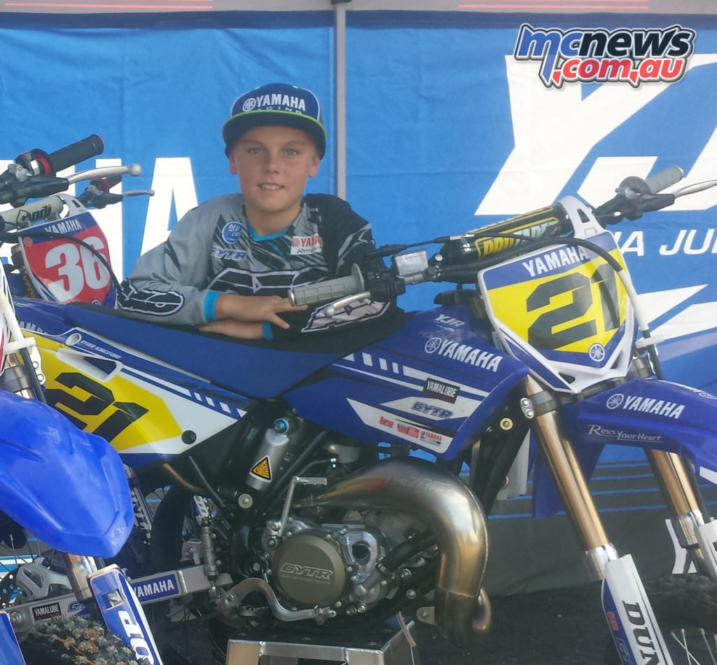 Ryder Kingsford is another fresh face to GYTR-YJR