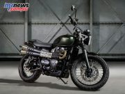 Triumph Bonneville Scrambler - As featured in Jurassic World in the raptor chase scene