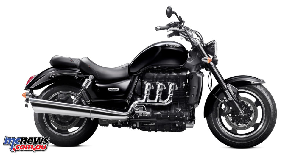 Triumph's Rocket III was originally launched in 2004 and named after the BSA model which had carried the same name.