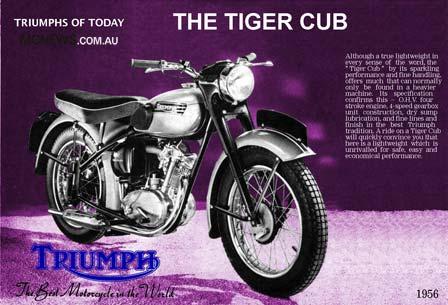 1956 Triumph Tiger Cub