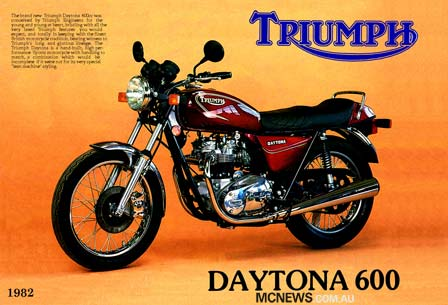 1982 Triumph Daytona 600
