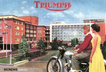 The Triumph Factory at Coventry