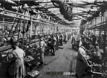 The Triumph machine shop