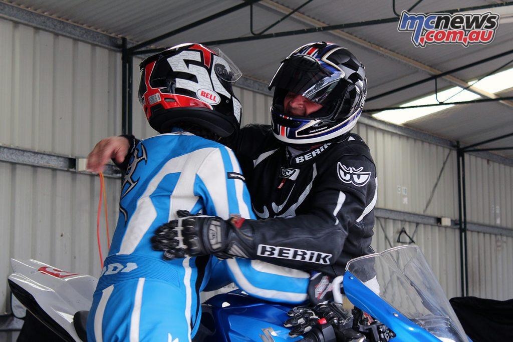2017 Preston MCC Bracket Racing - Sportsmanship in the pits