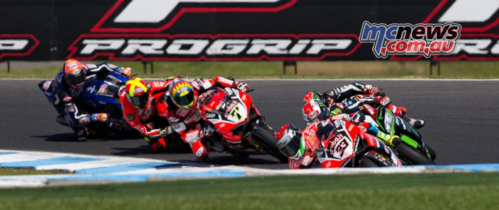 WorldSBK 2017 - Round One - Phillip Island - Race One - Image by TBG