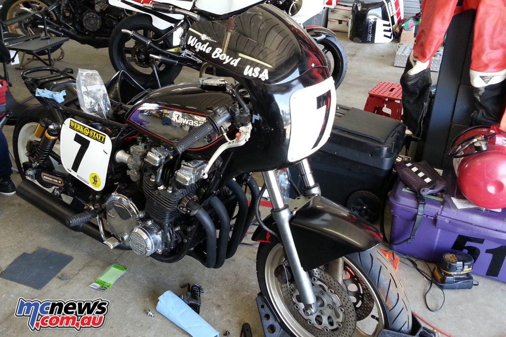 Wade Boyd's Kawasaki 1000