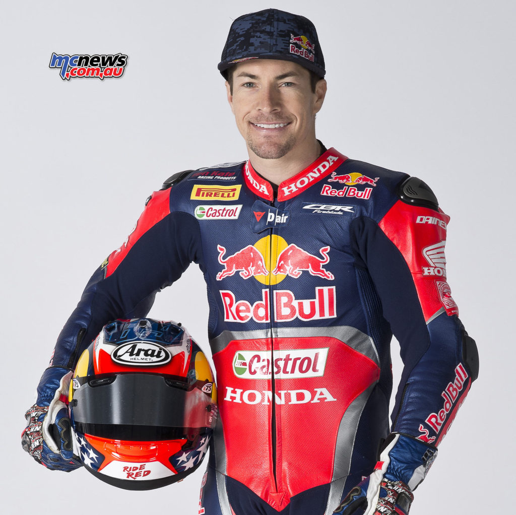 Red Bull Honda World Superbike Team - Nicky Hayden