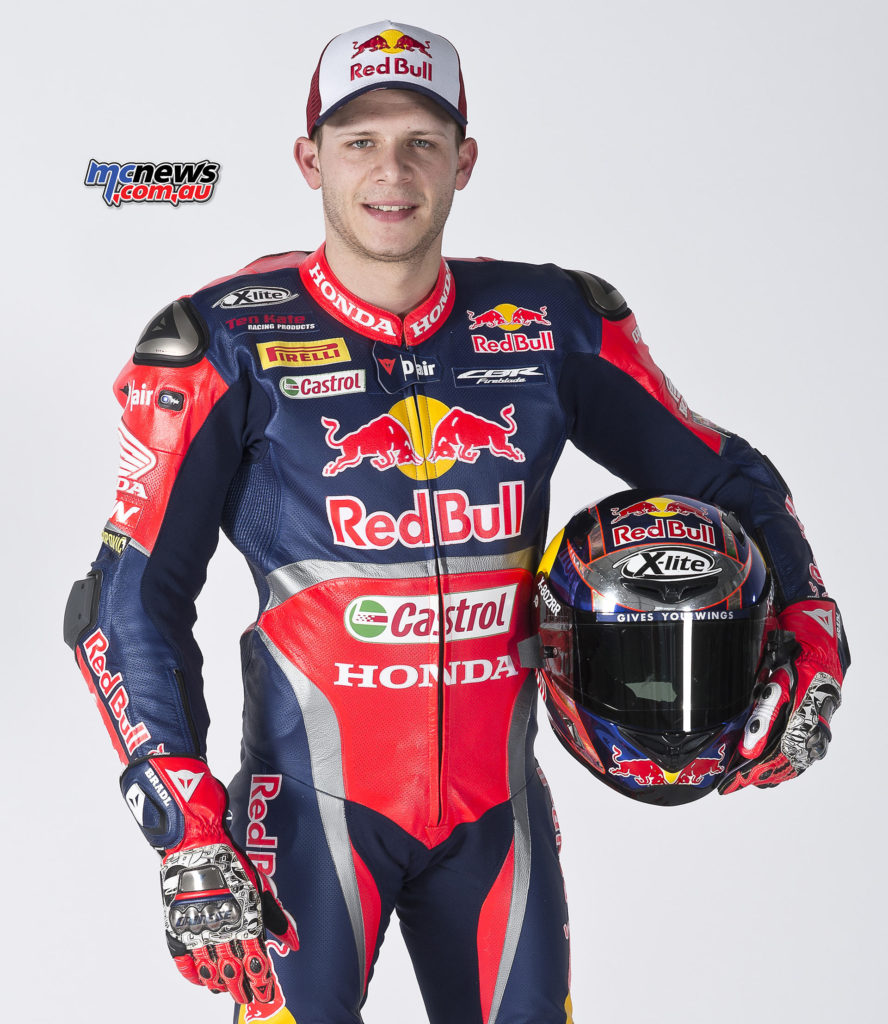 Red Bull Honda World Superbike Team - Stefan Bradl