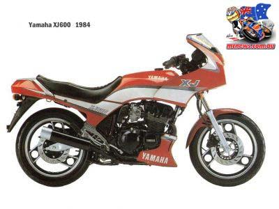 1984 Yamaha XJ600