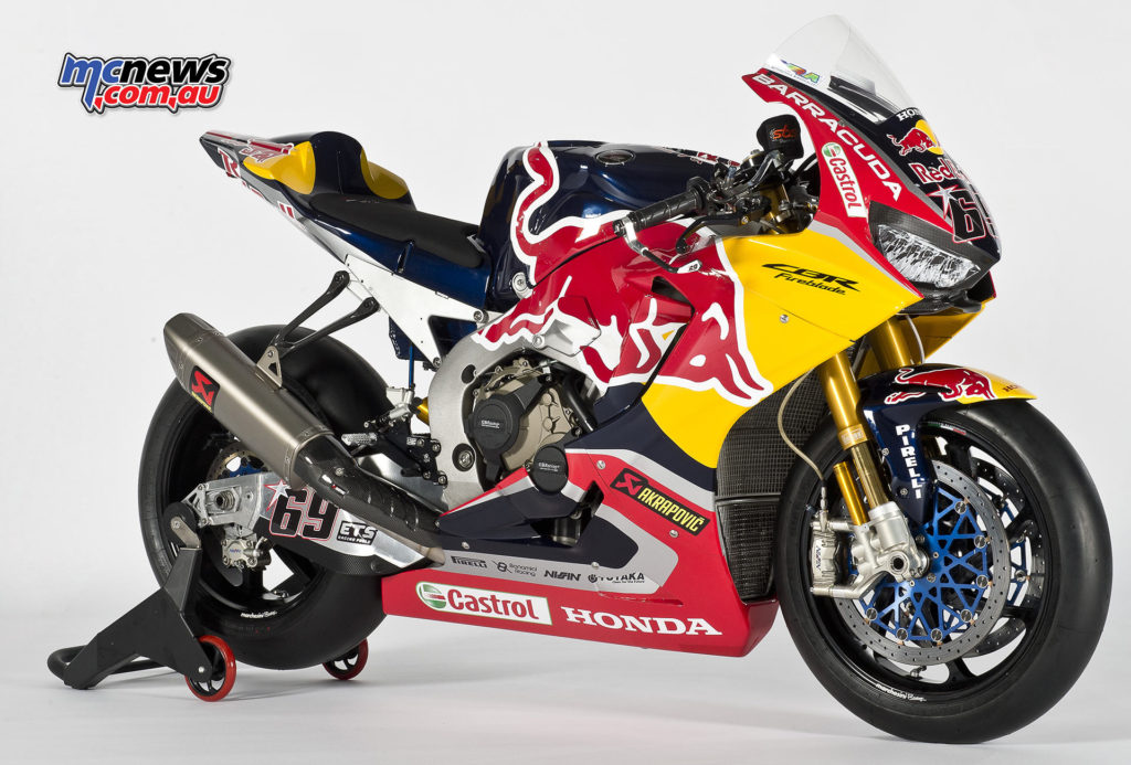 Red Bull Honda World Superbike Honda CBR1000RR Fireblade SP2