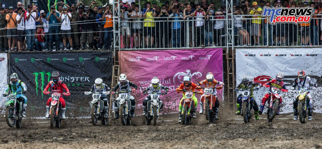 2017 MXGP Round 2 - Indonesia - Start