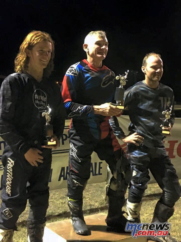 2017 NSW Dirt Track Championships, Gunnedah - Caslick (1), Childs (2), Kirkness (3)