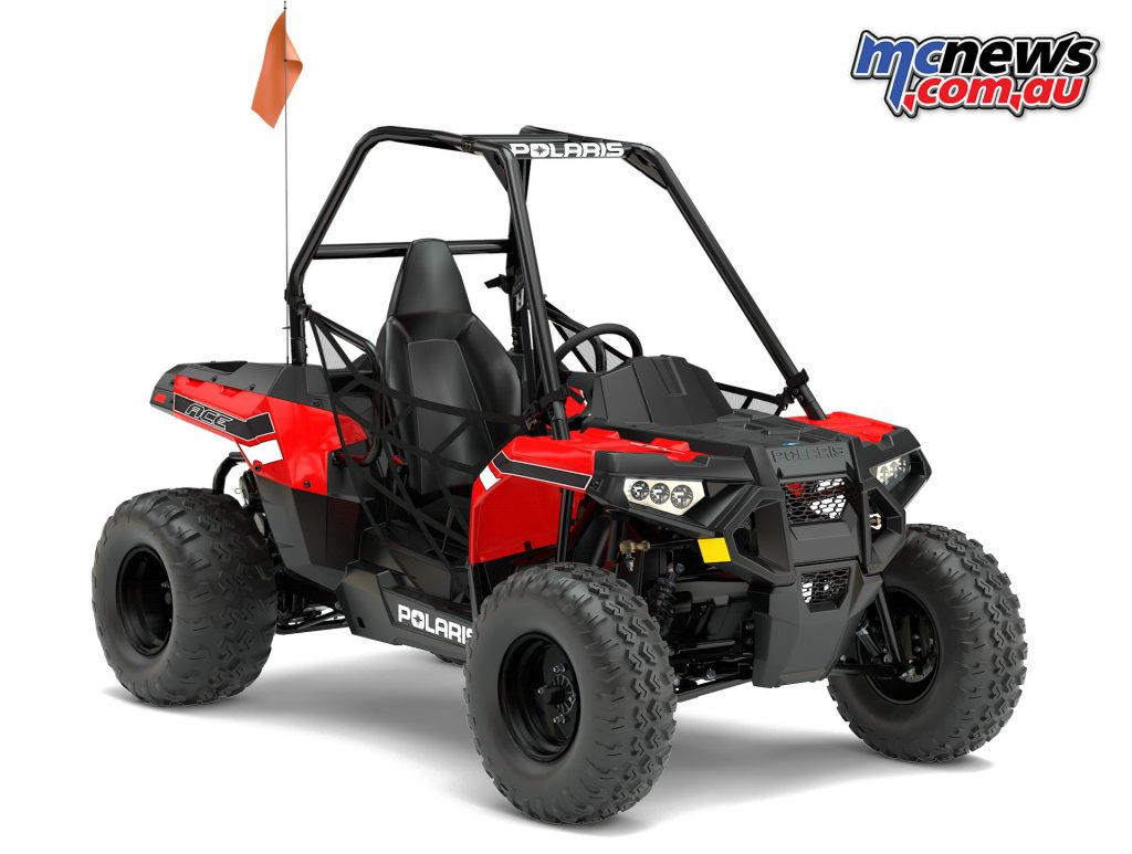 2017 Polaris Ace 150 EFI - Youth off-road single seater