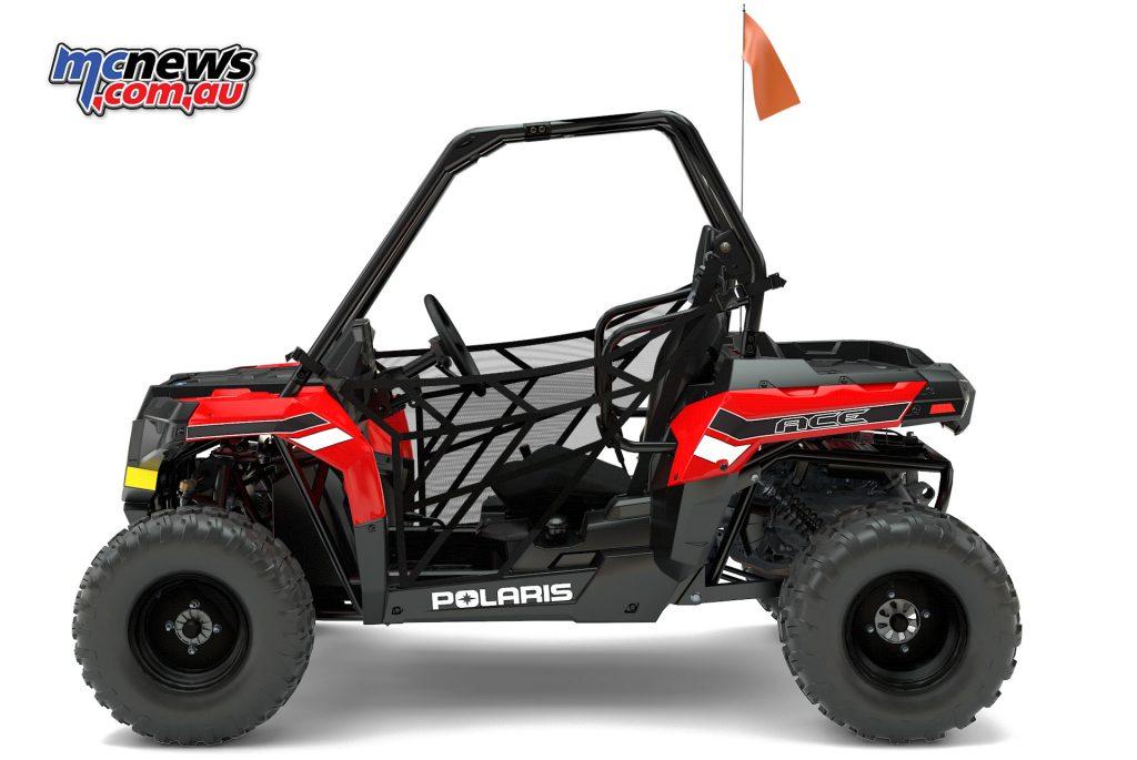 2017 Polaris Ace 150 EFI - Youth off-road single seater