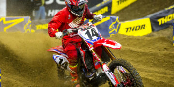 AMA Supercross - Round 12 Detroit - Cole Seely