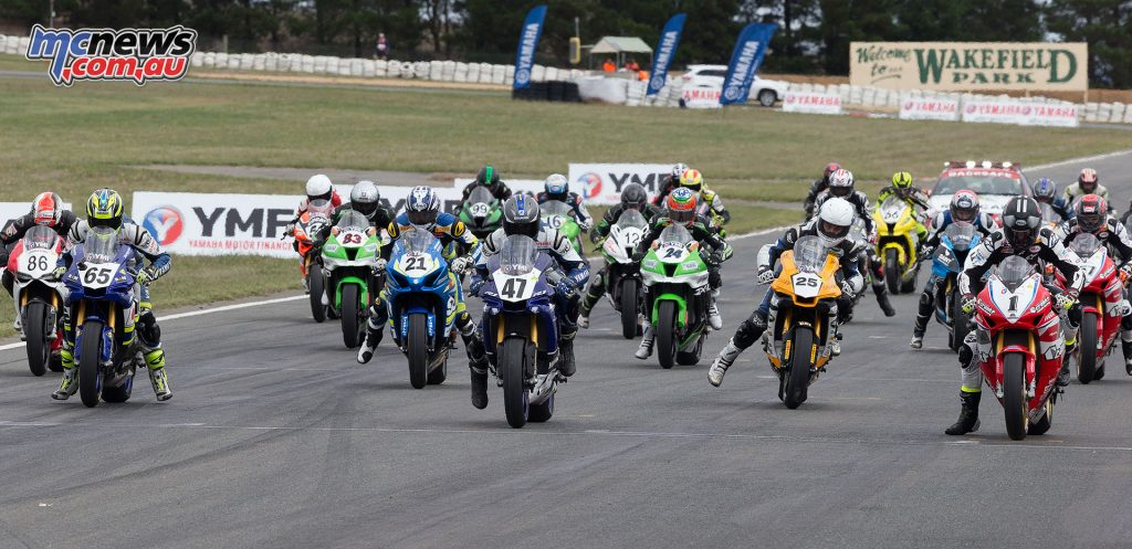 Superbike Race 2 Start - Image by TBG
