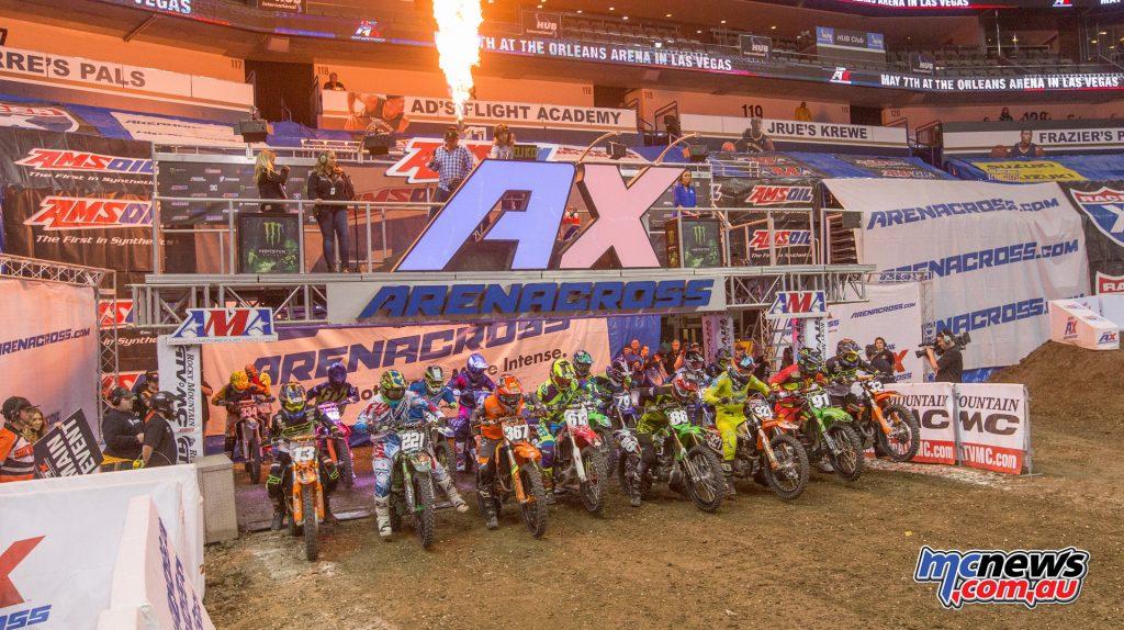 2017 Amsoil Arenacross - Round 9 - AX250 Start