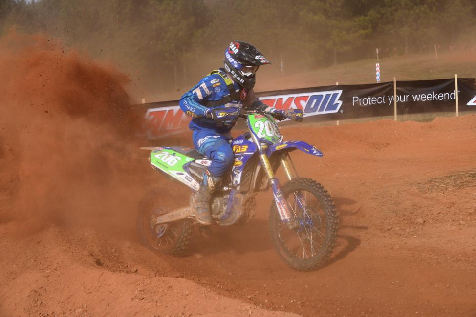 Josh Toth kicked off the new season by taking home gold in the XC2 250 Pro class. Image: Ken Hill
