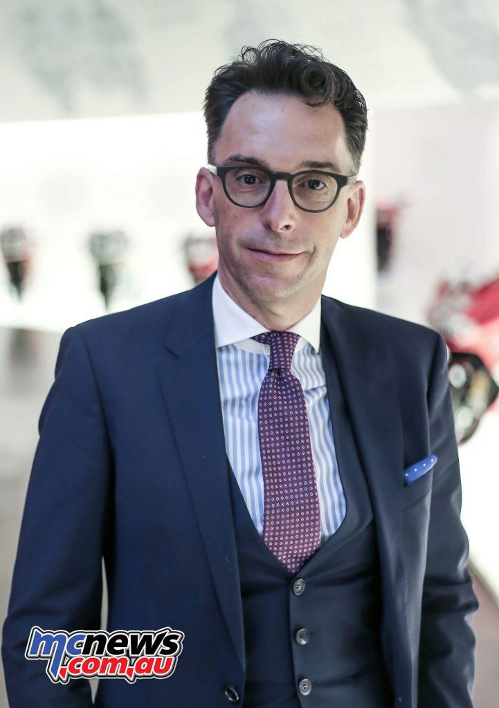 Andre Stoffels, Ducati CFO
