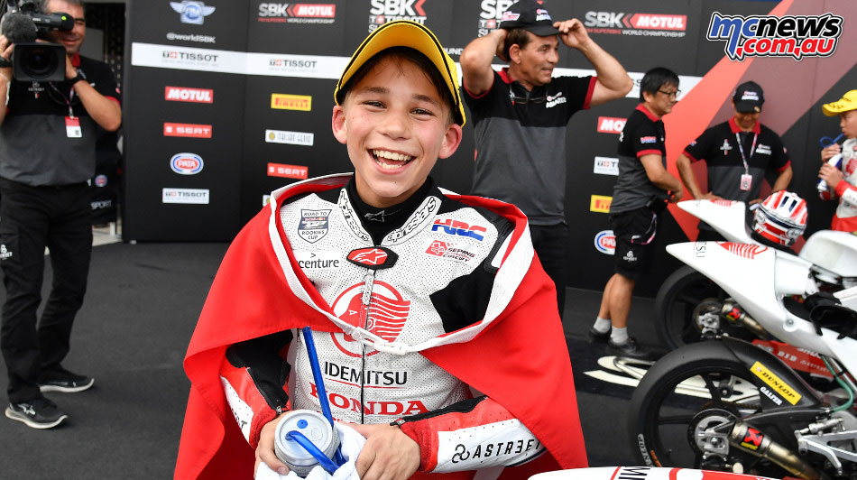 Asia Talent Cup - Thailand - Deniz Oncu wins Race 1 and 2, to make it two wins of two races for the weekend