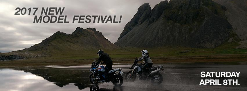 BMW Motorrad New Model Festival - Saturday April 8