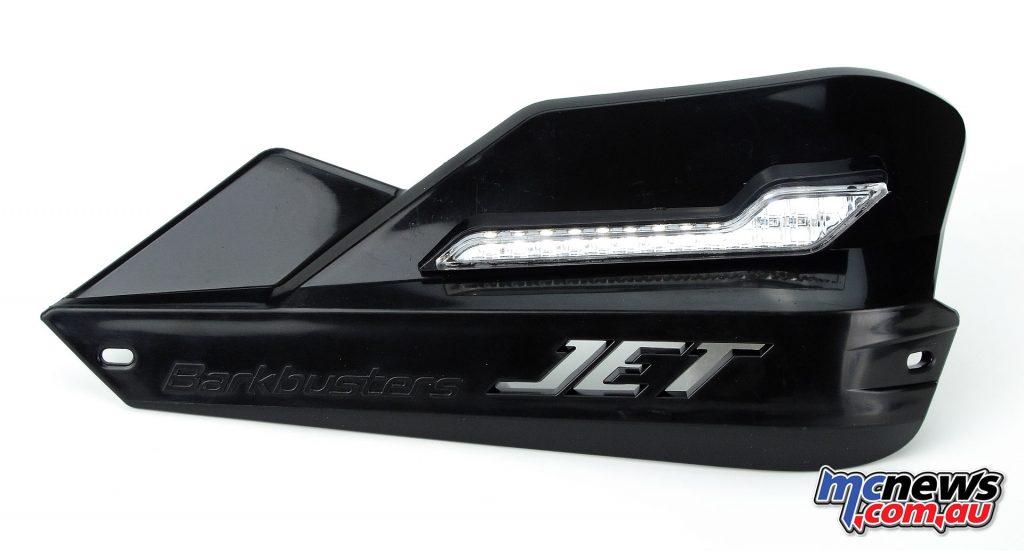 Barkbusters LED Position lights on Jet handguards