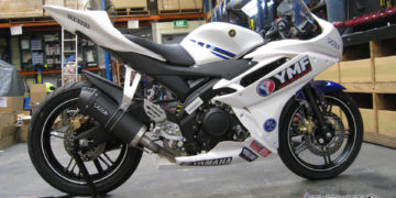 GP Juniors 2017 YZF-R15 competition bike