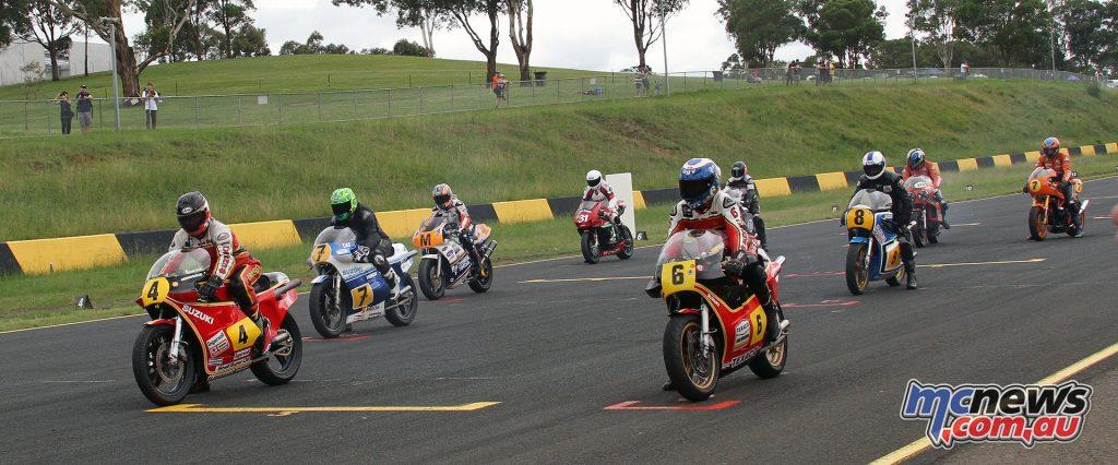 GP Legends Demonstration Race start